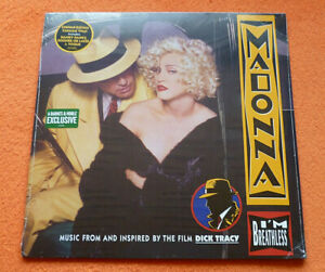EU-SELLER-Madonna-Yellow-LP-I-039-M-BREATHLESS-Barnes-amp-Noble-USA-PLEASE-READ