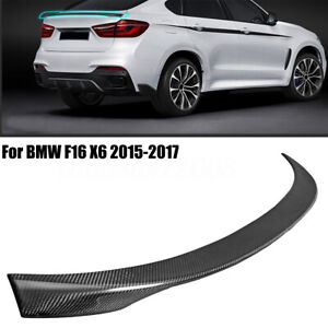 PERFORMANCE-STYLE-CARBON-FIBER-BOOT-TRUNK-LIP-SPOILER-FOR-BMW-F16-X6-15-17