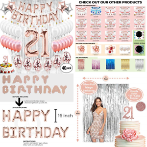 Image Is Loading 21St Birthday Decorations 21 Party Supplies Cake Topper