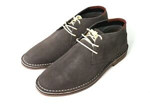 Kenneth-Cole-Reaction-Desert-Sun-Suede-Upper-Chukka-Lace-Up-Boots-Dark-Gray-9-US
