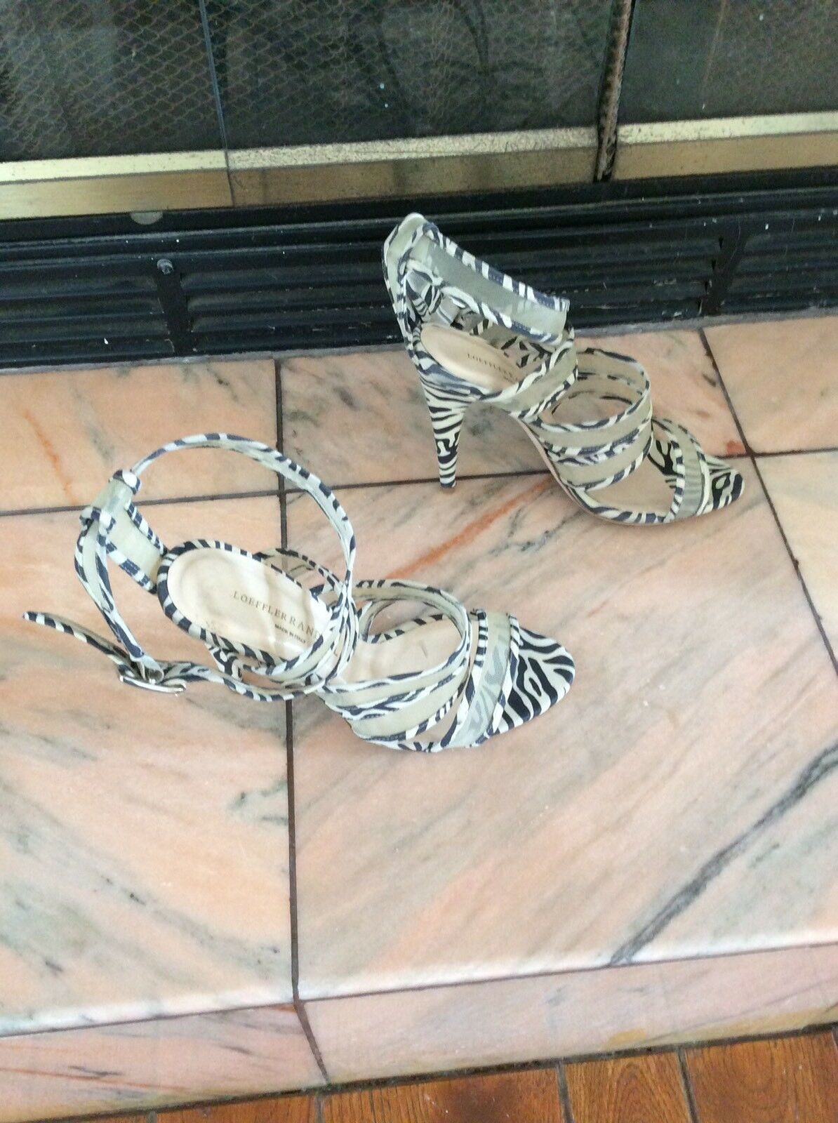 Loeffler Randall Scrappy Scrappy Scrappy Sandals Size 8B f47884