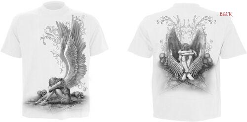 Spiral Direct 2016 Rang White T shirts//Skull//Angel//Wolf//Skeleton//Goth//Biker//Top