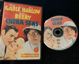 China Seas (DVD, 2006 Warner Bros) Clark Gable, Jean Harlow *LIKE NEW*