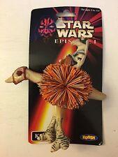 NEW 1999 Star Wars Episode I Koosh Ball Kaadu Podracer Hasbro on card RARE 1