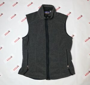 Vintage-Patagonia-Vest-Women-s-Small-Charcoal-Synchilla