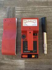 Tramex Leak Seeker Wet Roof Detector Scanner Moisture Meter Non Destructive Case