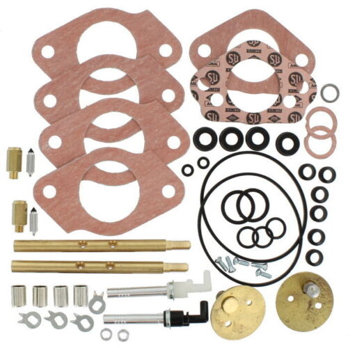 Genuine SU Master Carburetor Rebuild Kit Pair 72-74 MGB HIF-4 CRK116