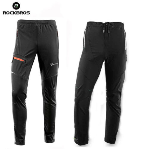 Cycling Pants Casual Bike Tights Sports Long Trousers 4 Styles UK STOCK