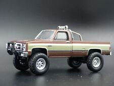 1982 82 GMC K2500 4X4 TRUCK FALL GUY SQUAREBODY 1/64 SCALE DIECAST MODEL CAR