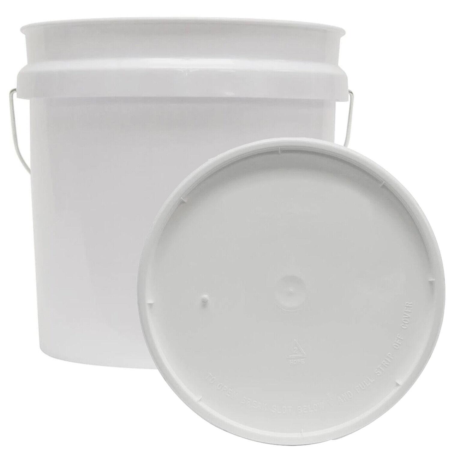 2 GALLON RESIDENTIAL BUCKET Food Grade BPA Free Plastic Stor