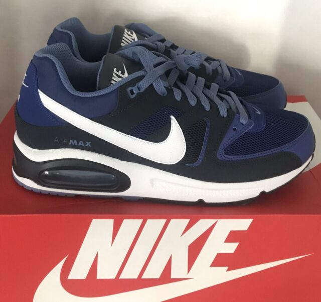 Size 9 Men Nike Air Max Command 2019 Blue Black White Running Shoes Trainer