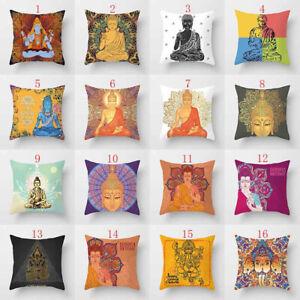 Am-Elephant-Ganesha-Buddha-Waist-Cushion-Pillow-Case-Cover-Sofa-Home-Decor-Glit