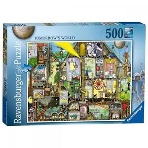 Ravensburger-14731-Colin-Thompson-Tomorrow-039-s-World-500-Pieces-Jigsaw-Puzzle