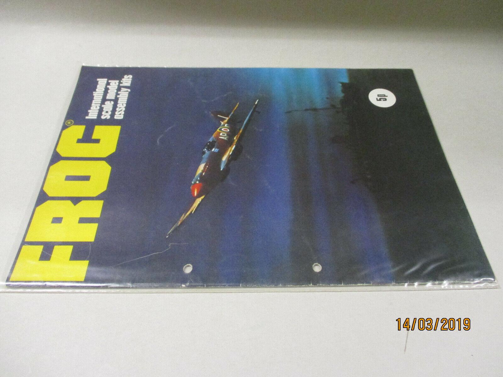 Frog Model Bausätze Katalog  1973