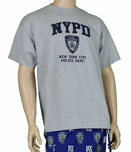 2f3e11c0f Nypd 9/11 Official Licensed Memorial Short Sleeve T-Shirt Gray Nypd ...