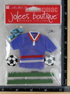 Jolee/'s SOCCER Boutique Stickers NEW
