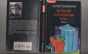 Die Spur der verschwundenen Tochter von Janet Dawson (Taschenbuch) - Graz-Gösting, Österreich - Die Spur der verschwundenen Tochter von Janet Dawson (Taschenbuch) - Graz-Gösting, Österreich