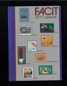 2011-FACIT-Special-Scandinavian-Postage-Stamp-Catalogue-Norway-Sweden-Denmark
