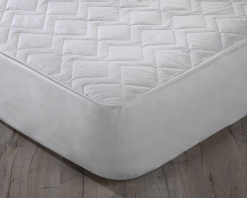 Keep Cool Cotton Mattress Protector 38cm Deep Skirt with 3D Air Relax Technology