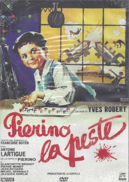 DVD Pierino el Peste por Yves Robert con Antoine Lartigue Nuevo 1963
