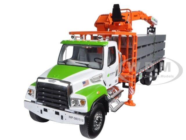 Freightliner m2-114sd Fassi Boom material Handler & carga 1 34 First Gear 10-4045