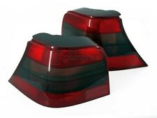 For VW Golf MK4 4 Red - Black Smoke Tail Lights Rear  GTI R32 Anniveary OEM