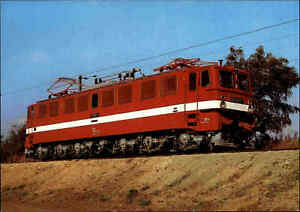 EISENBAHN-Motiv-AK-color-E-Lok-Lokomotive-Jubilaeumskarte-Verkehrsmuseum-Dresden