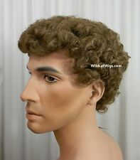 Quality Men's JUSTIN Wig ..COLOR CHOICE.  Will Farrell, Mike Brady, Tom Jones **