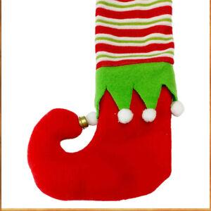 4-stuecke-Weihnachten-Tischbein-Socken-Dekorative-Stuhlfuesse-Abdeckungen-Bodenschu