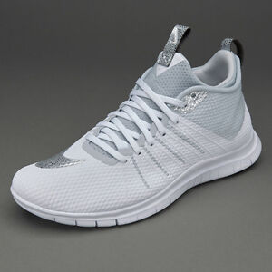 2089822aac97 Nike Free Hypervenom 2 Fs White Silver Grey Men s Running Trainers ...