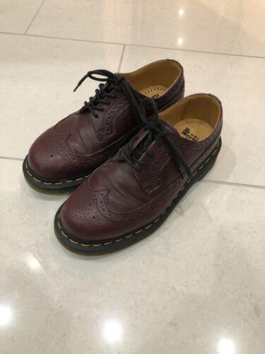Burgundy k Airwair un Martins di 3 Boys paio Shoes Dr U indossava volte YzZtBwYq5