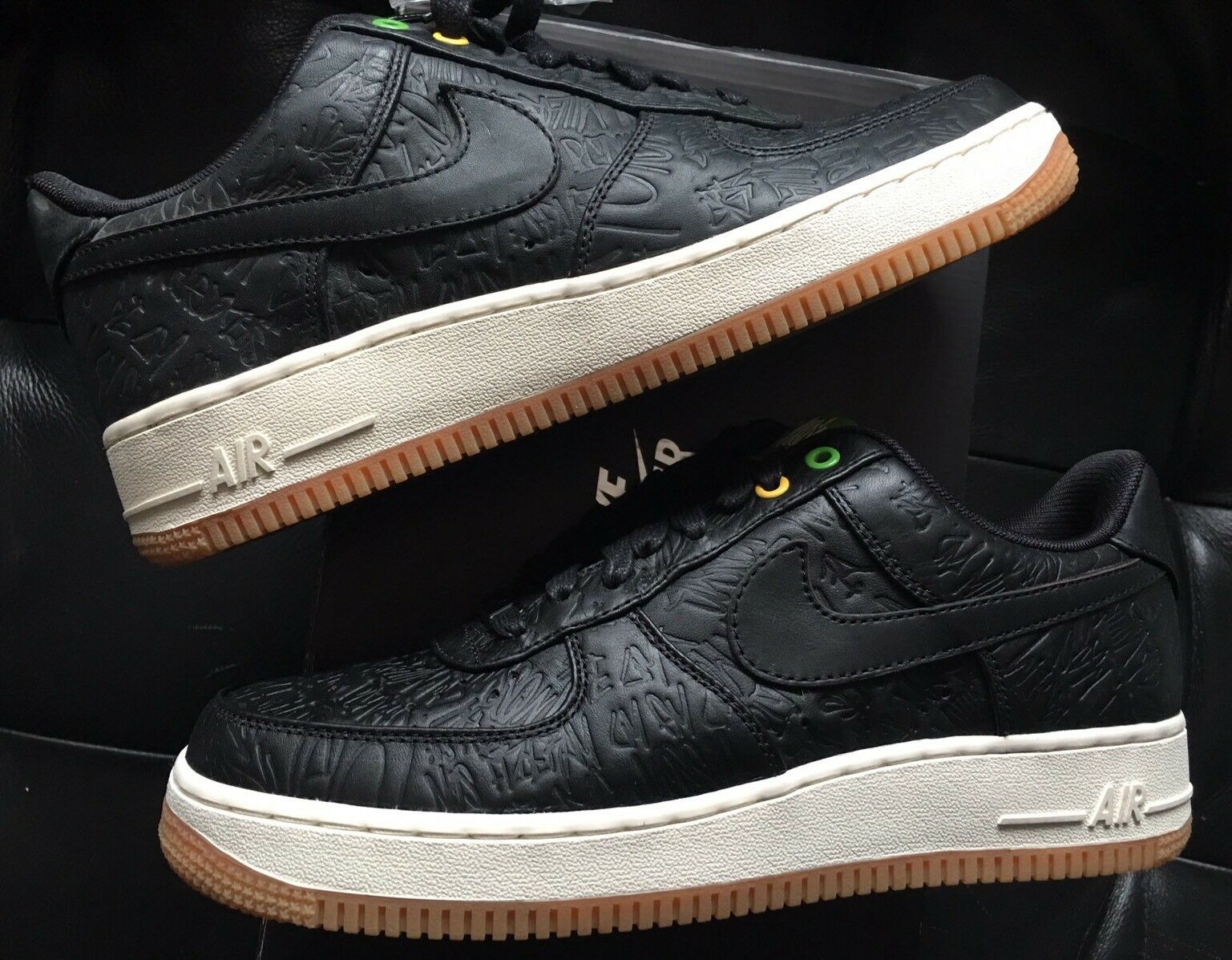 premium selection c7040 1fbd4 ... discount code for nike air force 1 prm low prm 1 qs brasil reduccion de  precio