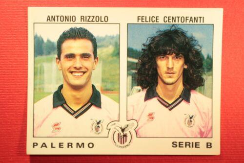 Panini Calciatori 1991//92 N 497 PALERMO RIZZOLO CENTOFANTI OTTIMA