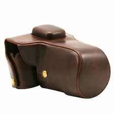 New Leather Camera Bag Cover Case Shoulder Strap for Olympus OM-D E-M5 OM D E M5