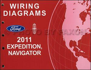 2011 Expedition Navigator Wiring Diagram Manual Original ...