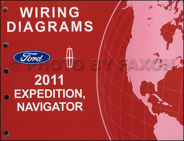 2011 Expedition Navigator Wiring Diagram Manual Original