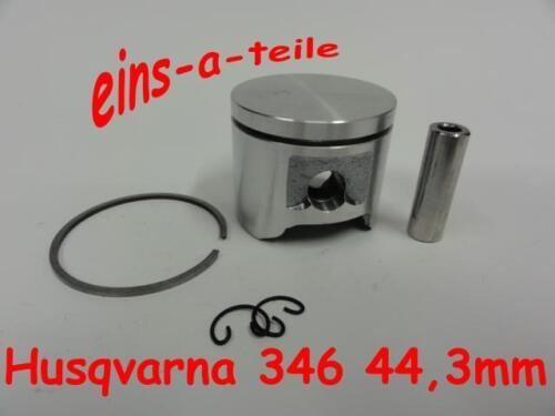 Pistón adecuado para Husqvarna 346 44,3mm nuevo calidad superior