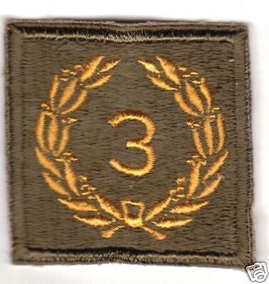 United States Original WW2 Unit Citation Sleeve Patch