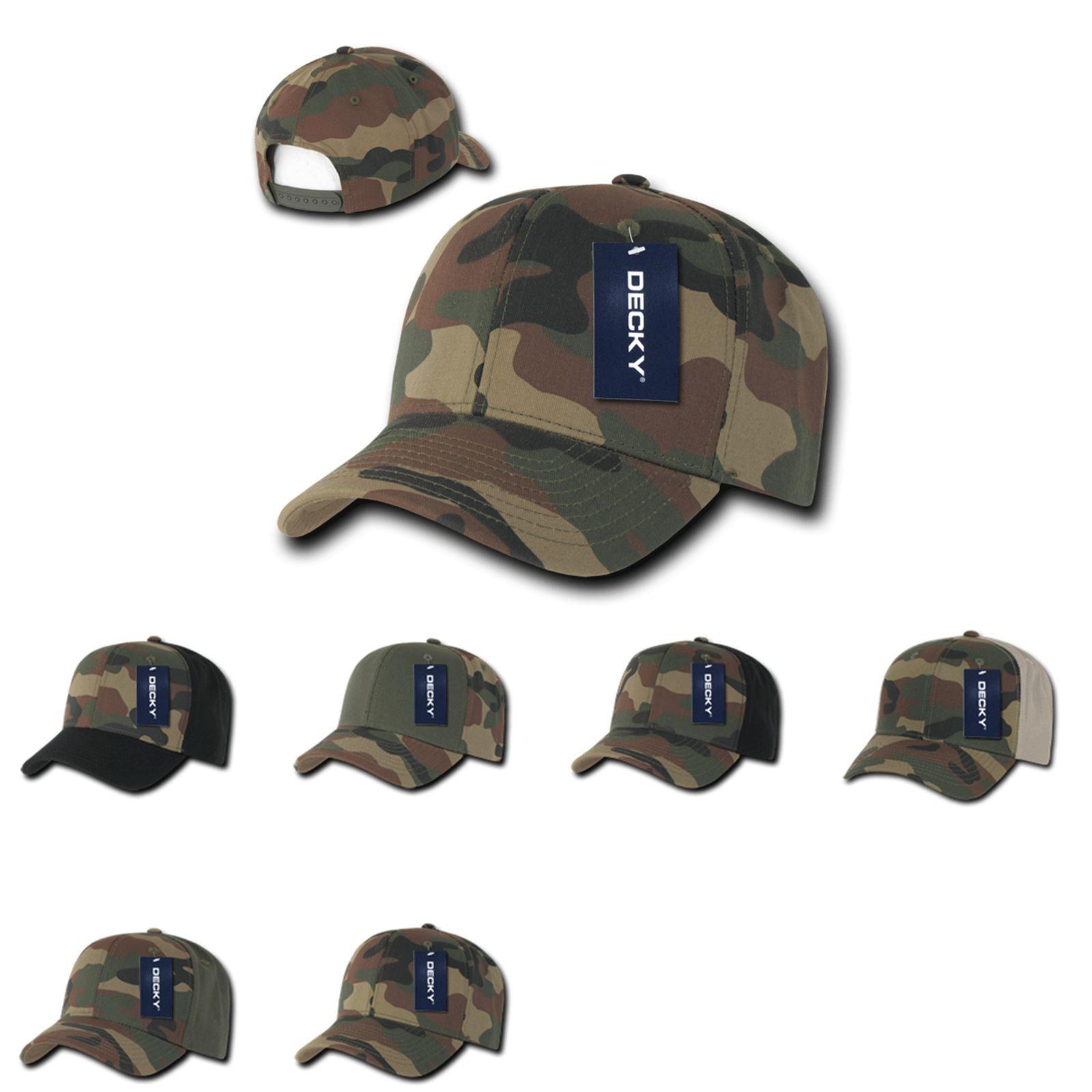 1 docena Decky algodón camuflaje sombreros gorras de béisbol Gorra Lote al por mayor