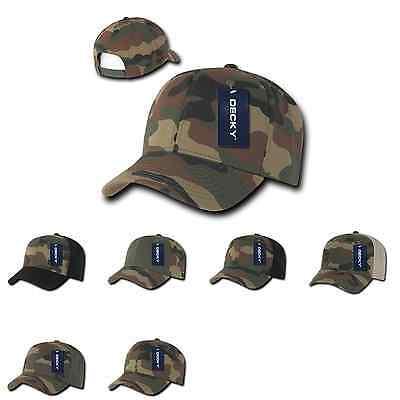 1 Dozzina Decky Cotone Camouflage Cappellini Da Baseball Snapback All'ingrosso