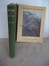 Aristocrats of the Air by Charles William Robert Knight With Rare Dustcover 1946