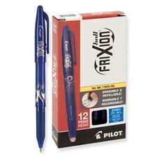 31551 Pilot Frixion Ball Erasable Gel Pen Fine Pt 07mm Blue Ink Pack Of 12