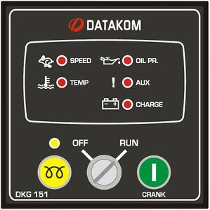 DATAKOM-DKG-151-Generator-Manual-Start-Control-Panel-Unit-Controller