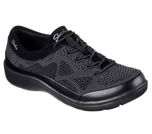 Reactive Step Memory Lite Sneakers Trainers New Black Skechers Foam Women q0w8g1