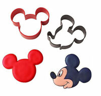 Mickey Mouse Clubhouse 2 Pc Metal Cookie Cutter Set From Wilton 4440 -