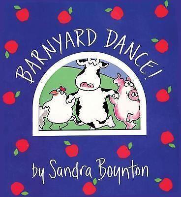 Barnyard Dance funny/cute Sandra Boynton baby/toddler sturdy board book Awards