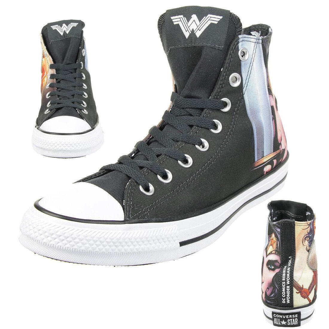 Converse C Taylor A/S Hi CHUCK DC Fumetto Scarpe Tela Wonder Woman 161306c Scarpe classiche da uomo