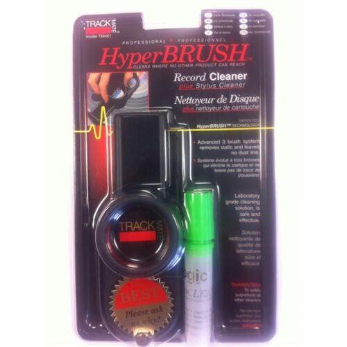 TRACK MATE Hyper BRUSH VINYL Record Cleaner Plus Stylus Cleaner TM461