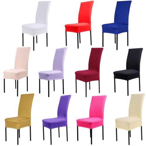Stretch Spandex chaise couvre housses Salle Mariage Banquet Fête Décor