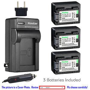 CG700 Cargador de batería para BP-718 Canon VIXIA HF R40 HF R42 HF R50 HF R52 HF R300